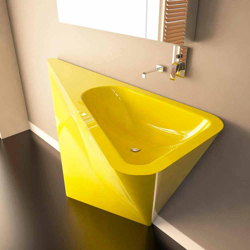 Waschbecken modernes design  Modernes Standwaschbecken Mullet