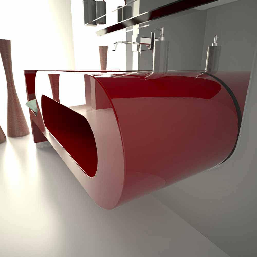 Design Waschbecken. Latest Waschbecken Design Waschtisch Glas ...