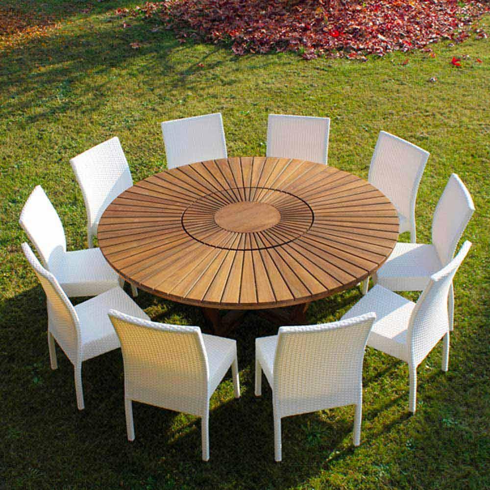 Großartig Runder Gartentisch Referenz Von Echt Round Table Table Außen