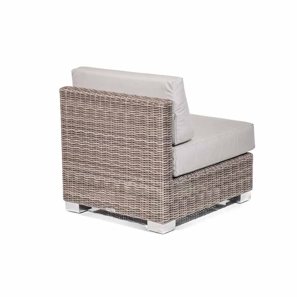 Outdoor Lounge Set in Rattan Optik handmade Rita modernes Design