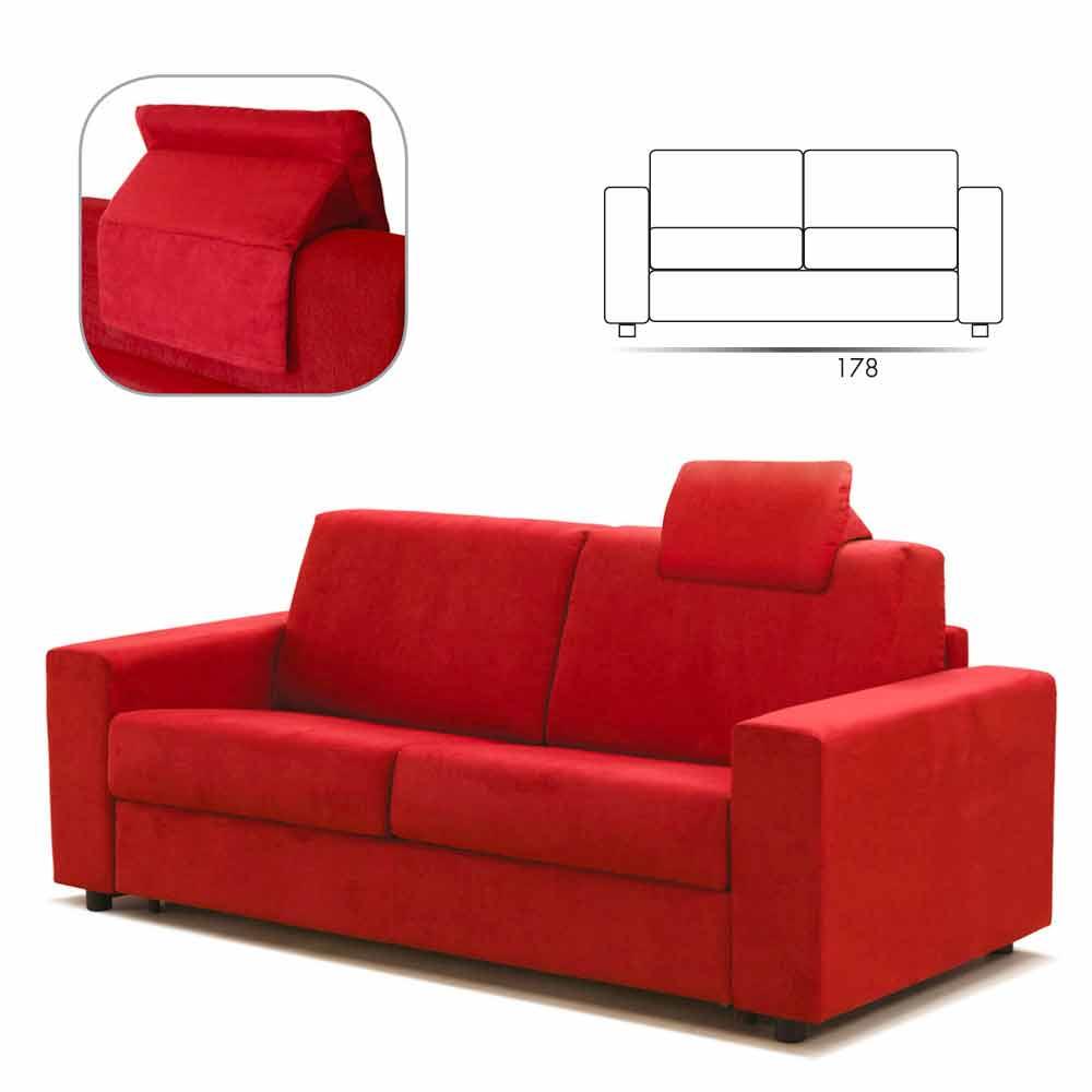 Inspirierend Italienische Polstermöbel Galerie Von 2-sitzer-sofa Maxi Moderne Kunstleder / Stoff In