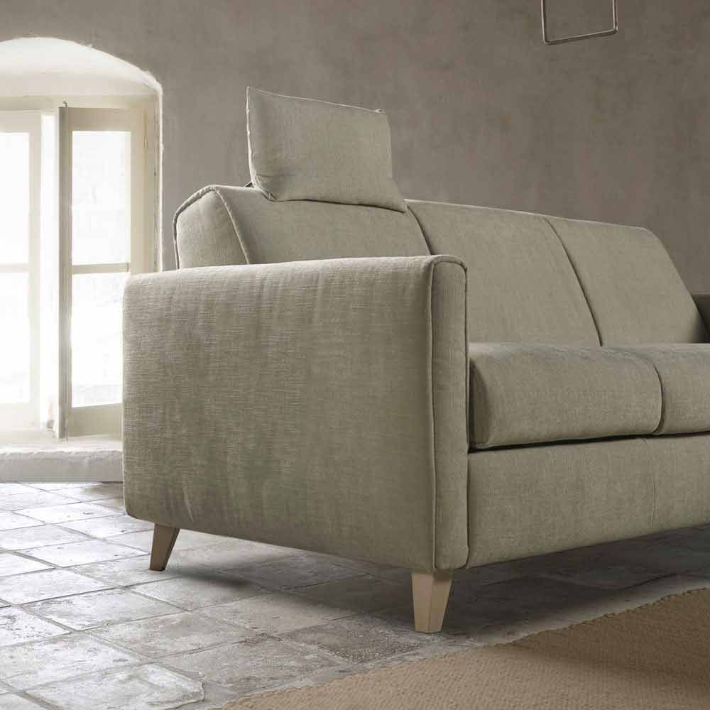 Schlafsofa aus Stoff mit modernem Design made in Italy Filippo