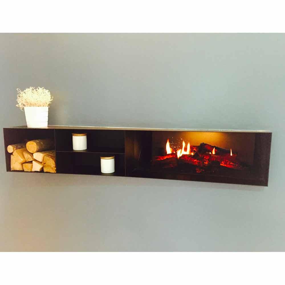 elektro kamineinsatz mit hd aufl sung eddimburgo design. Black Bedroom Furniture Sets. Home Design Ideas