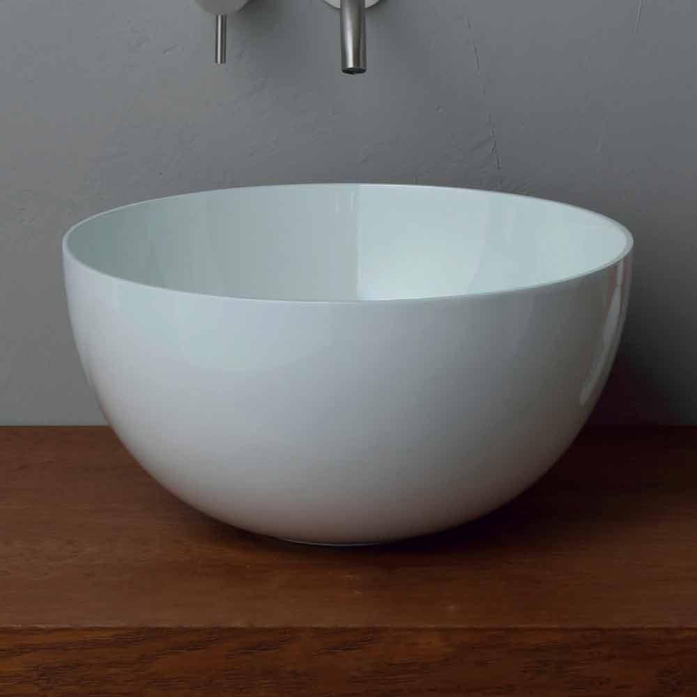 rundes aufsatzwaschbecken aus keramik modernes design star. Black Bedroom Furniture Sets. Home Design Ideas