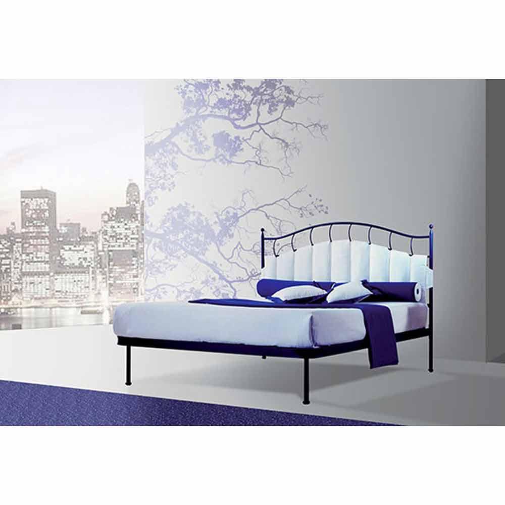 Jugend Queen Size Bett aus Schmiedeeisen Ametista