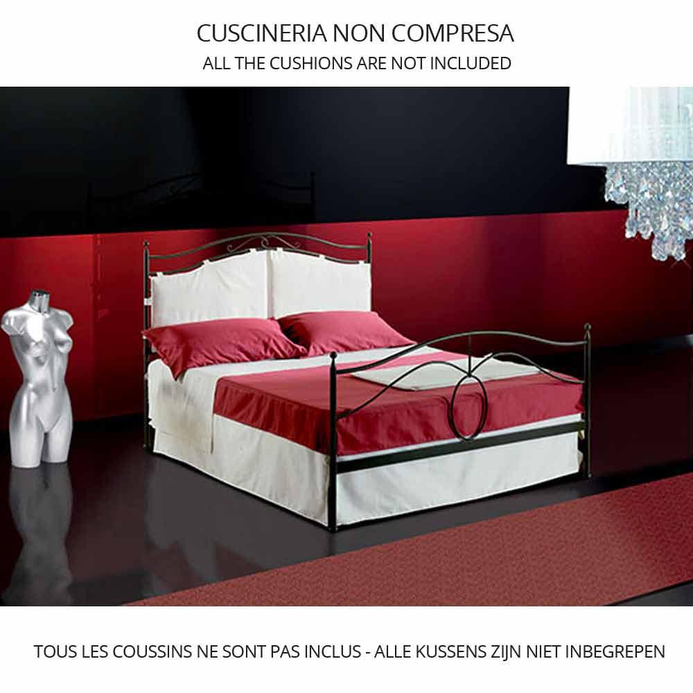 Jugend Queen Size Bett aus Schmiedeeisen Cassiopea