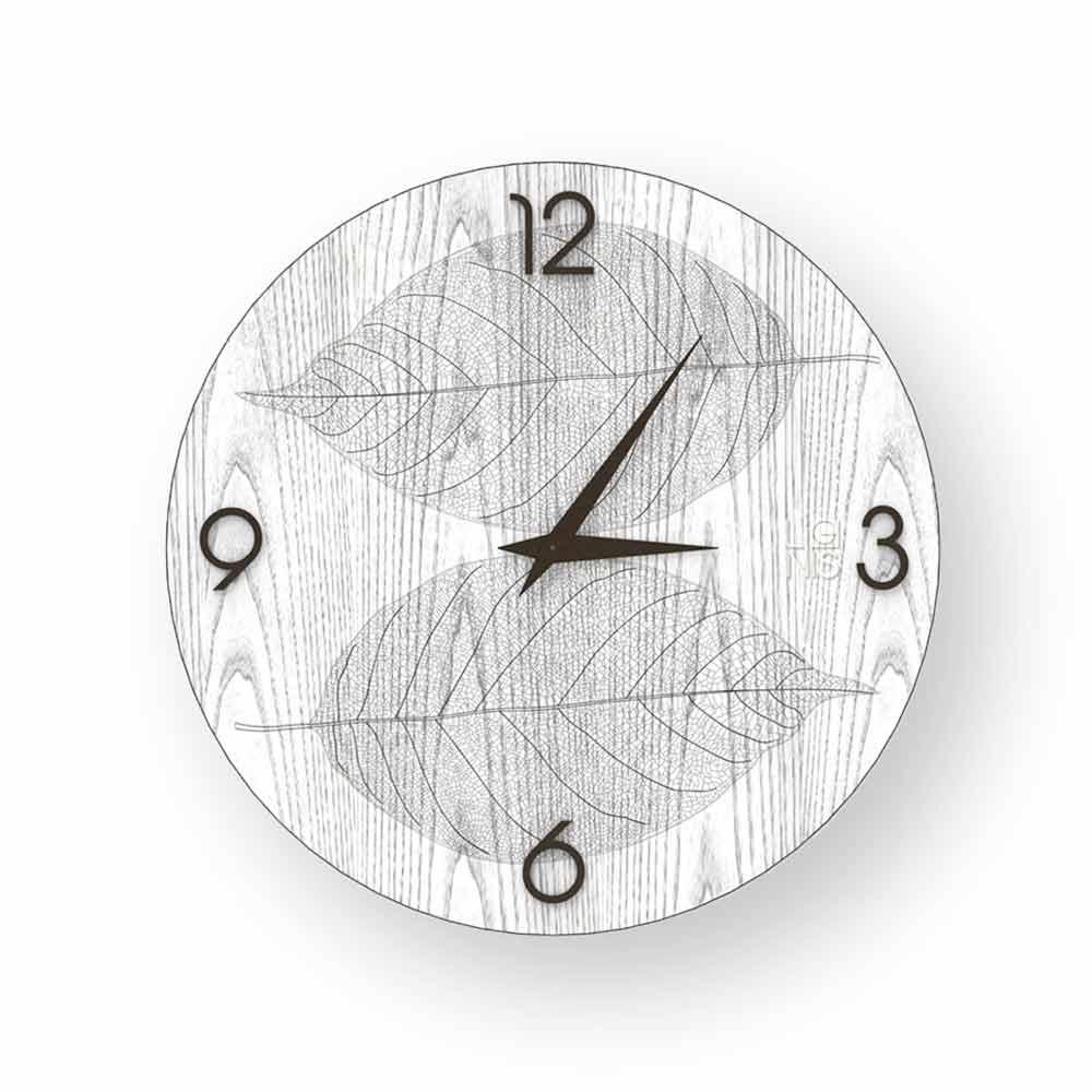 Verziertem In Holz ArceHergestellt Aus Wanduhr Design Italien uXikZOPT