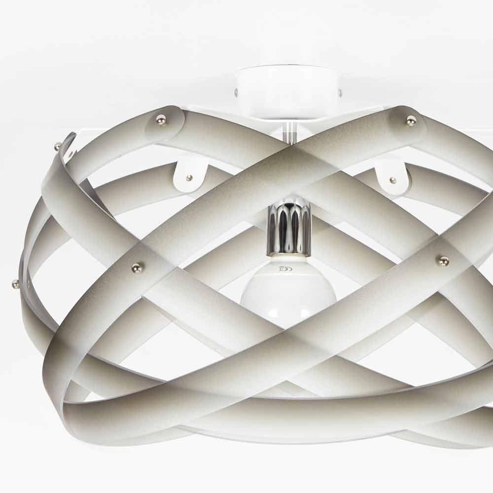 Designer Deckenleuchte aus Methacrylat mit Vanna Nuance Dekoration, Durchmesser 40 cm