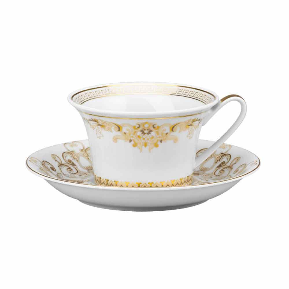 rosenthal versace medusa gala teetasse im porzellan design. Black Bedroom Furniture Sets. Home Design Ideas