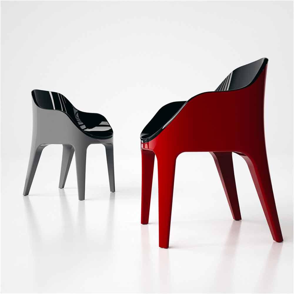 Moderne Stühle im italienischen Design - Viadurini