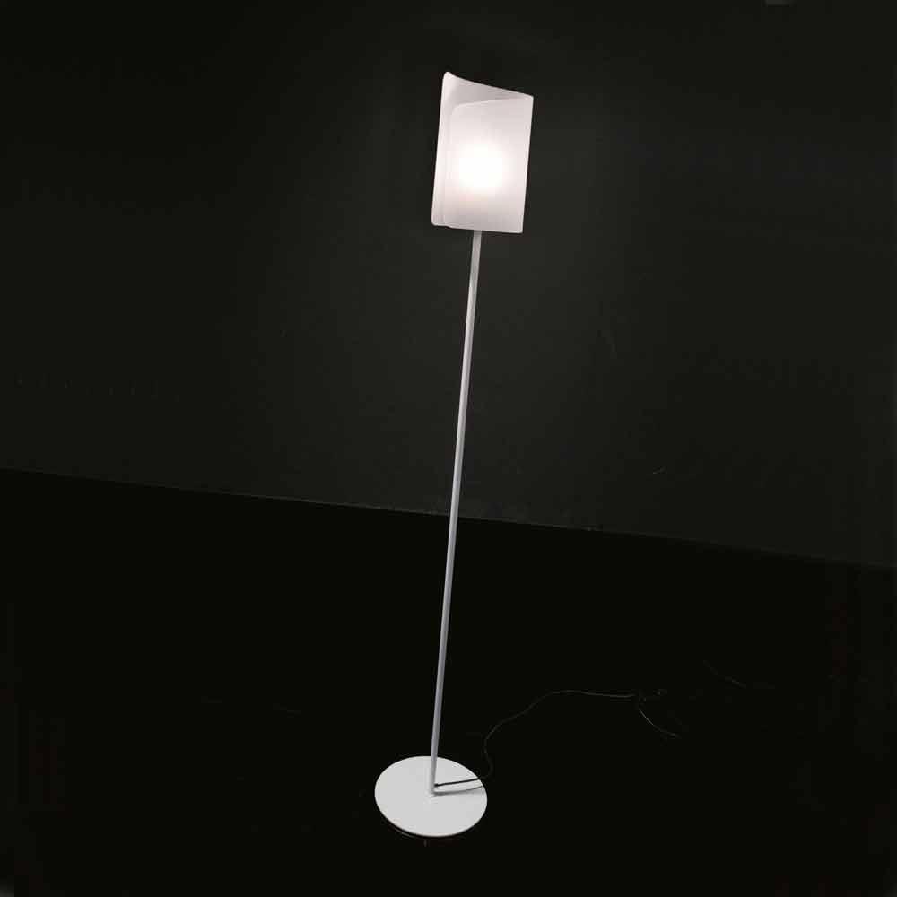 Selene papiro stehlampe aus kristall 15 h 180cm for Stehlampe kristall