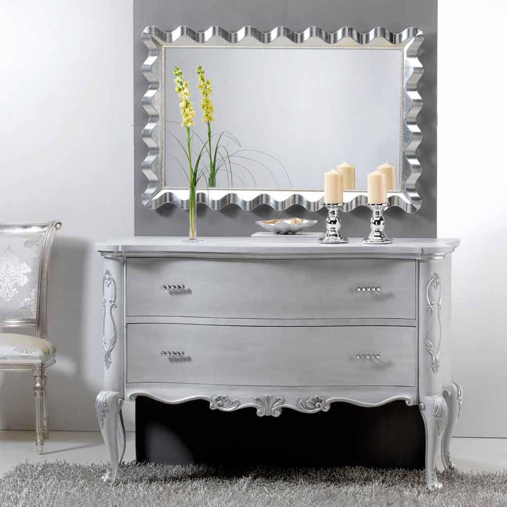 moderner wandspiegel im glamour effekt lane. Black Bedroom Furniture Sets. Home Design Ideas