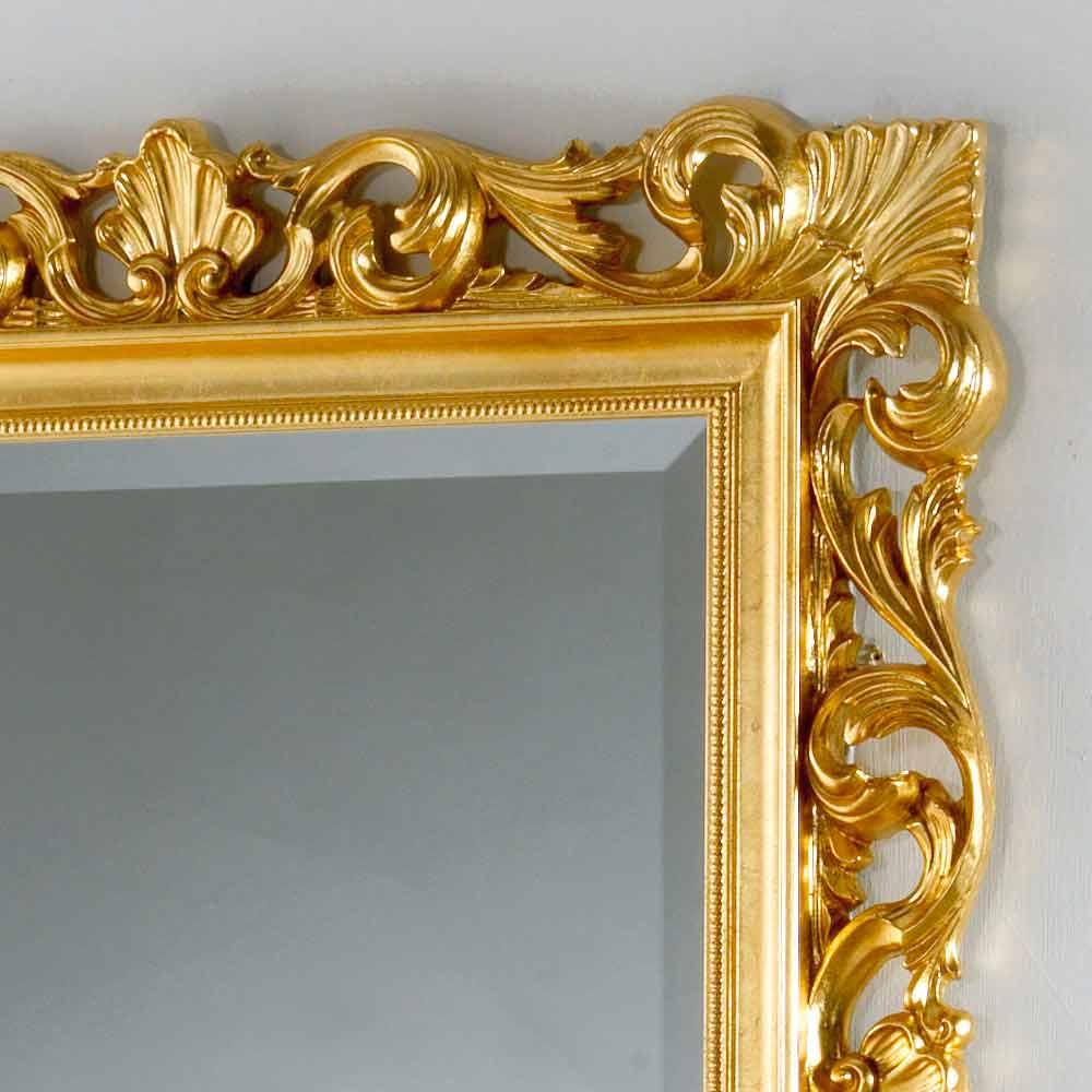 wand und standspiegel mit ornamentreichen spiegelrahmen mata. Black Bedroom Furniture Sets. Home Design Ideas