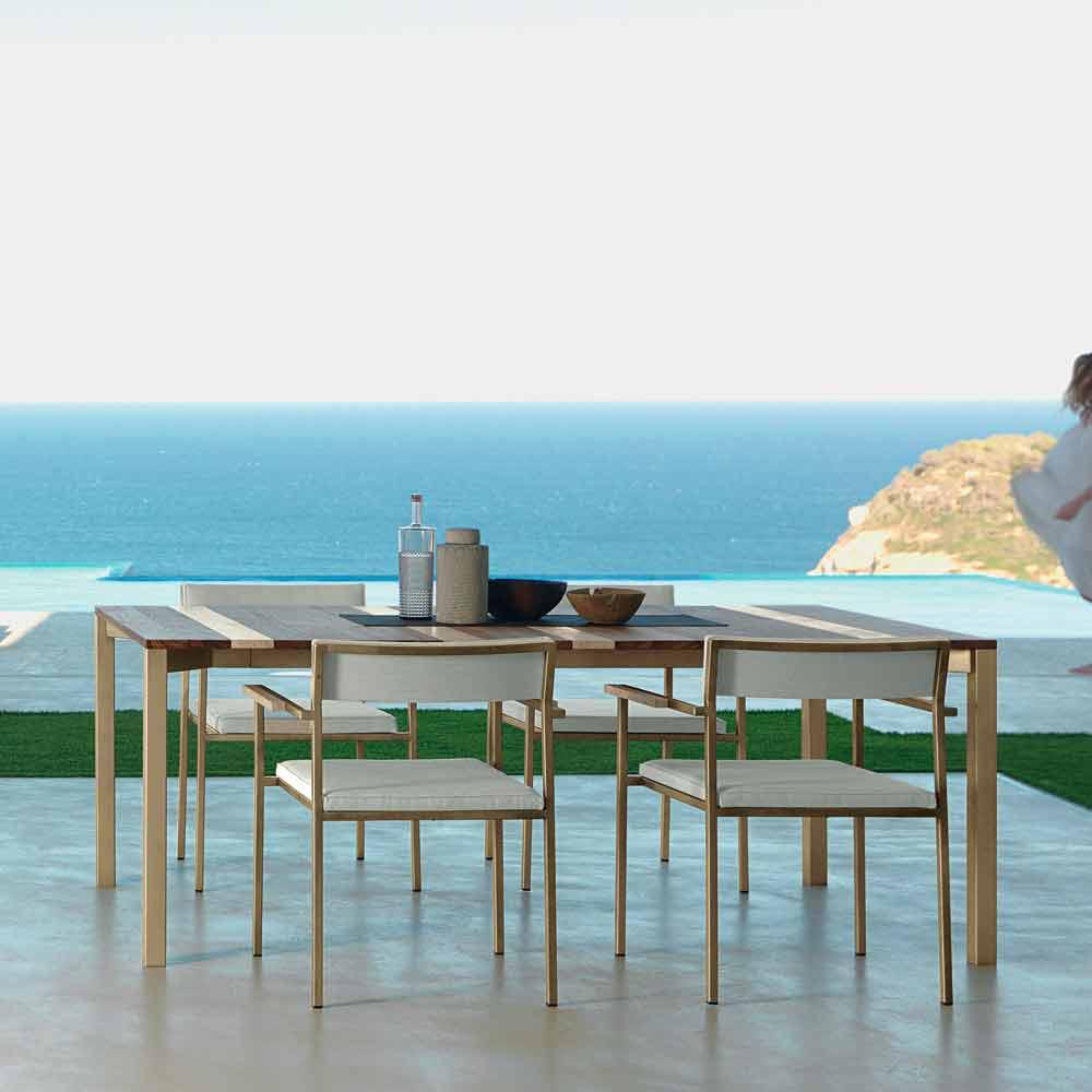 talenti casilda gartentisch in design made in italy. Black Bedroom Furniture Sets. Home Design Ideas