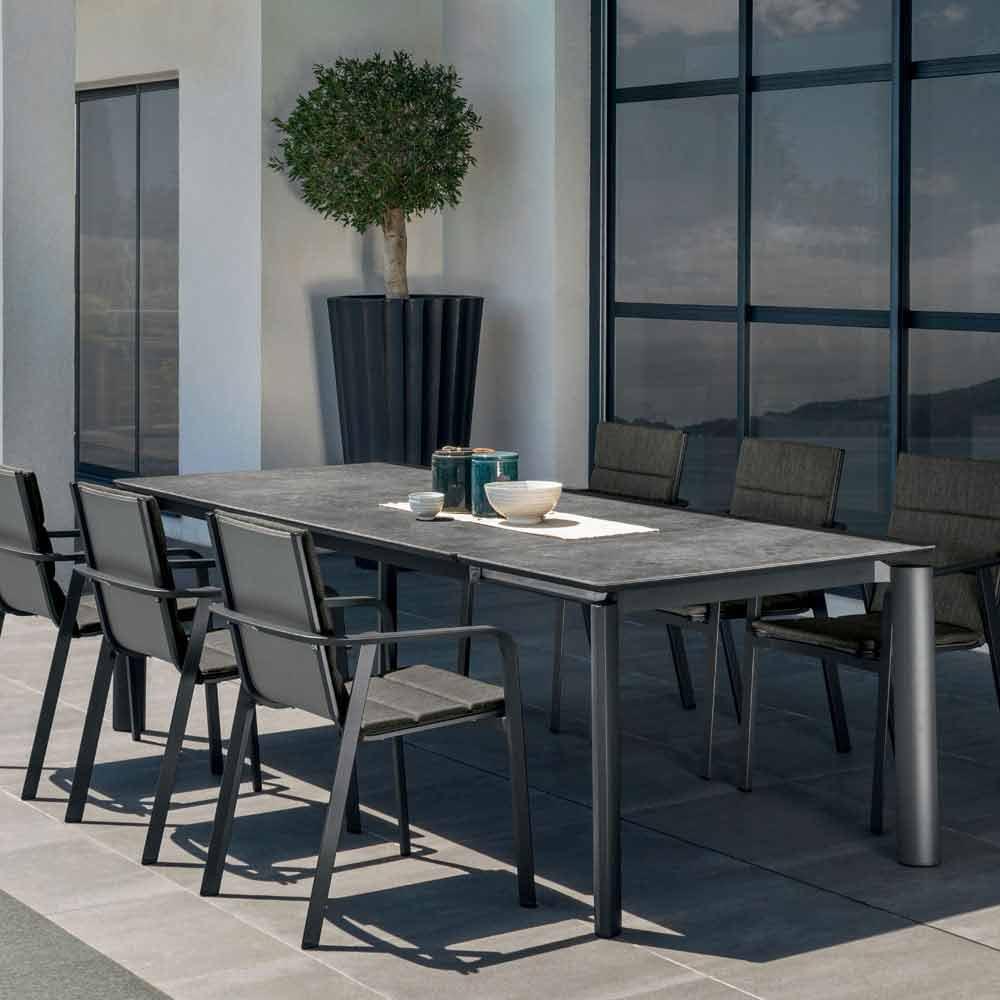 talenti milo ausziehbarer gartentisch in design made in italy. Black Bedroom Furniture Sets. Home Design Ideas