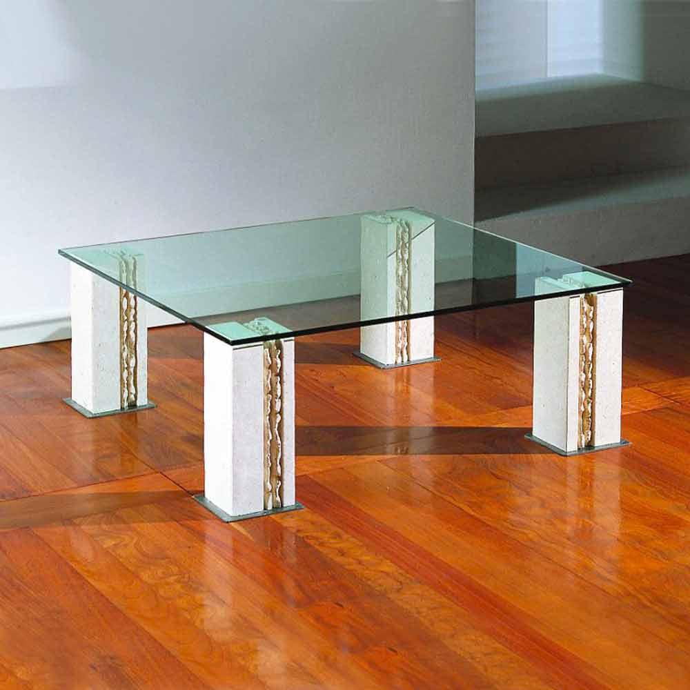 couchtisch modernes design, couchtisch aus stein und kristall in modernem design milos, Design ideen
