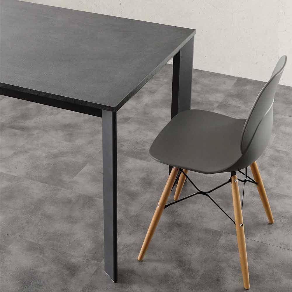 tisch ausziehbar 3 meter simple esstisch nussbaum satin melamin kchentisch ausziehbar cm with. Black Bedroom Furniture Sets. Home Design Ideas