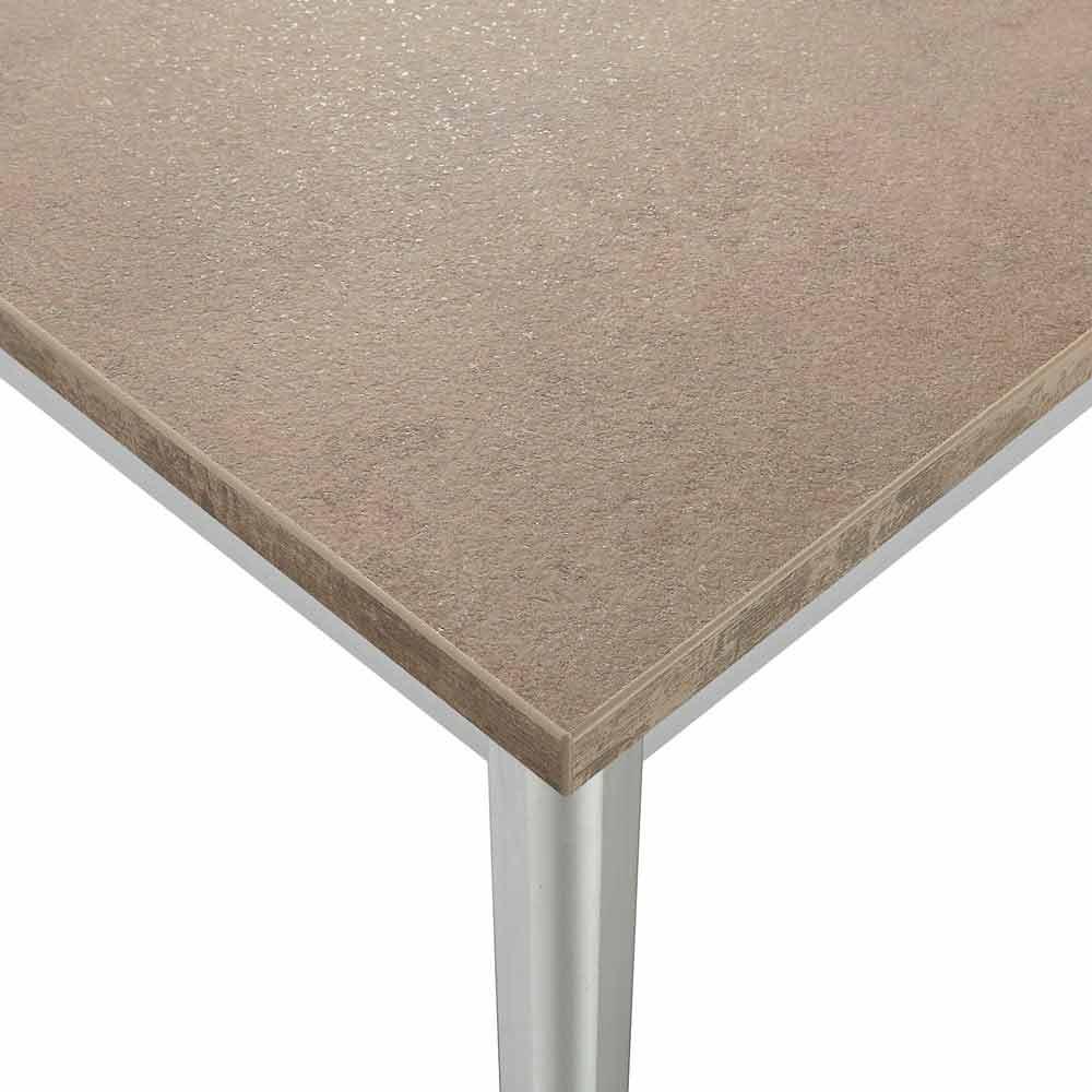 tisch ausziehbar 3 meter simple esstisch nussbaum satin. Black Bedroom Furniture Sets. Home Design Ideas