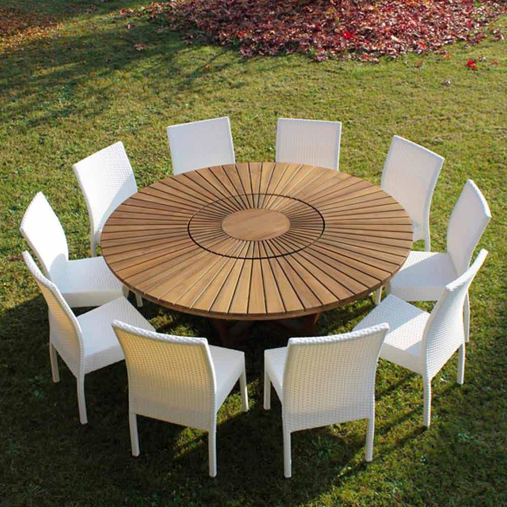 Best Table De Jardin Ronde Design Pictures - Amazing House Design ...
