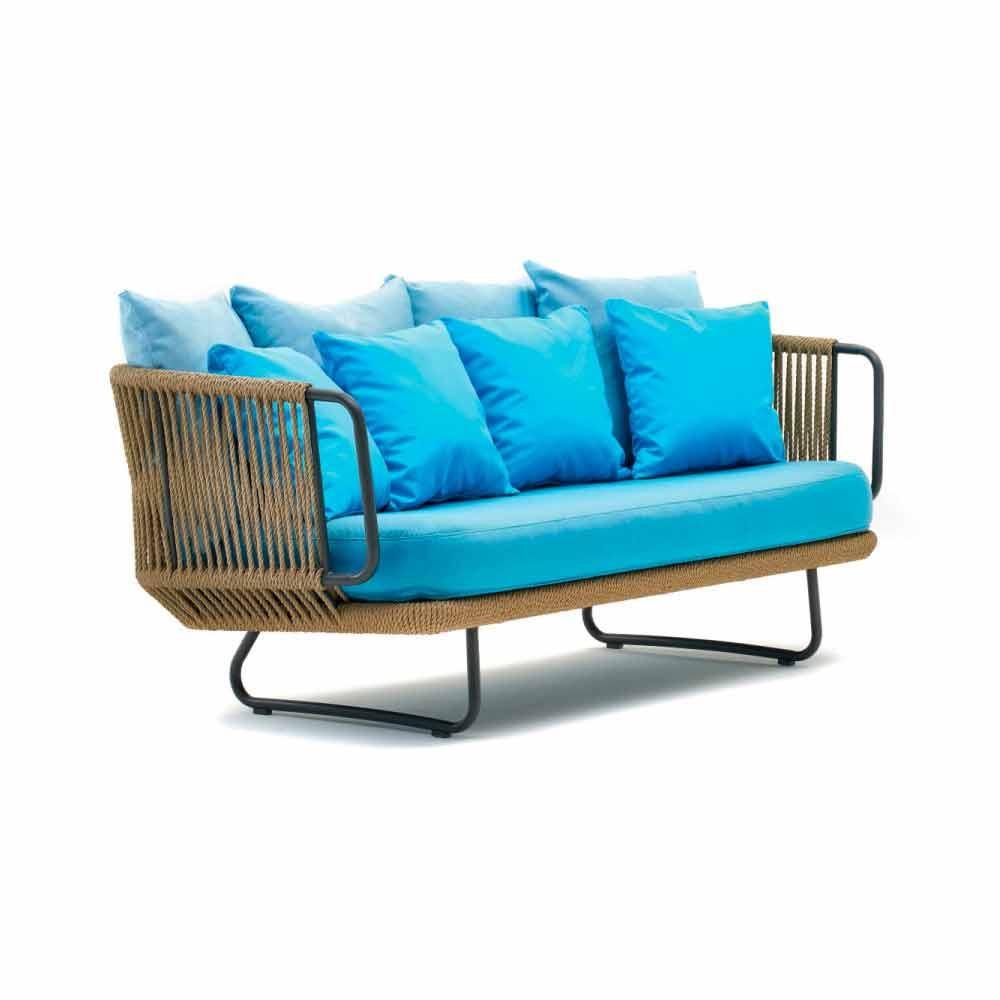 Malerisch Sofa Und Sessel Beste Wahl Varaschin Babylon Garten-lounge, Sofa, 2 1 Couchtisch