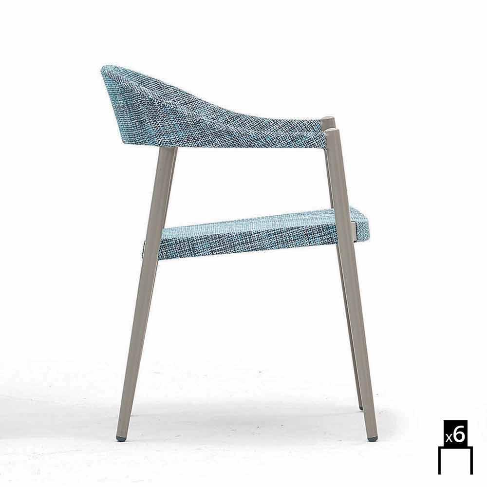 Varaschin Clever Stuhl Aus Modernem Design Garten, 6 Stück