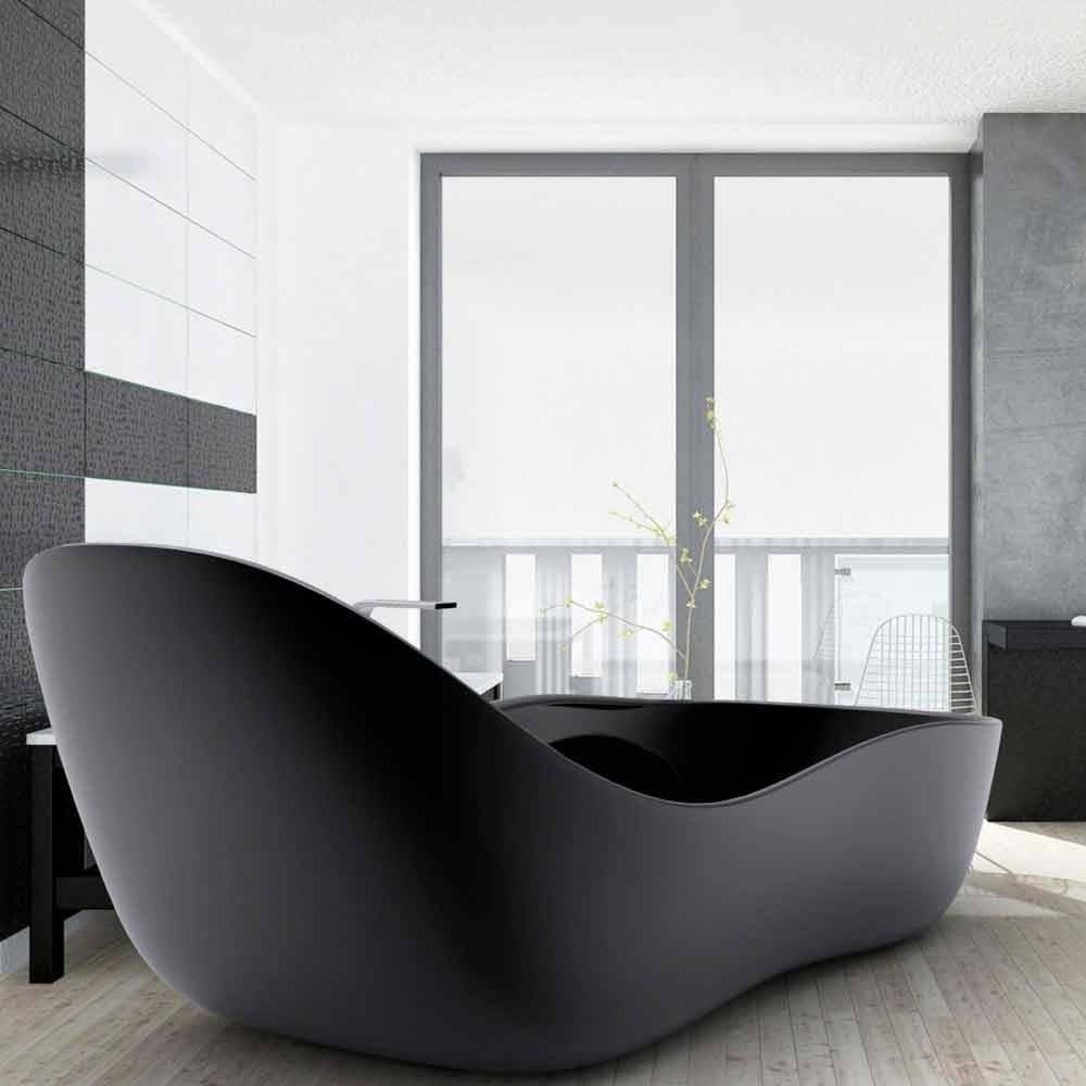 Freistehende badewanne in modernem design wave - Vasche da bagno moderne ...