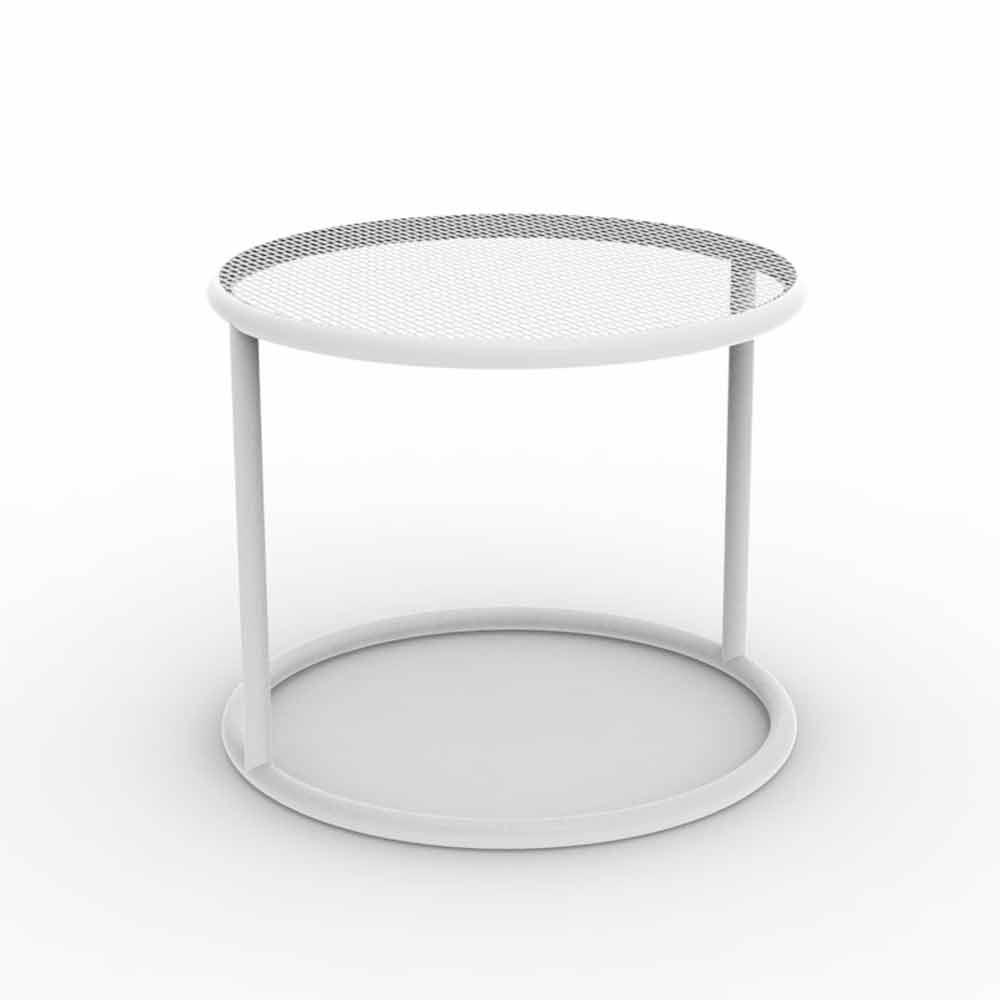 Vondom kes runder gartentisch aus stahl modernes design - Gartentisch design ...