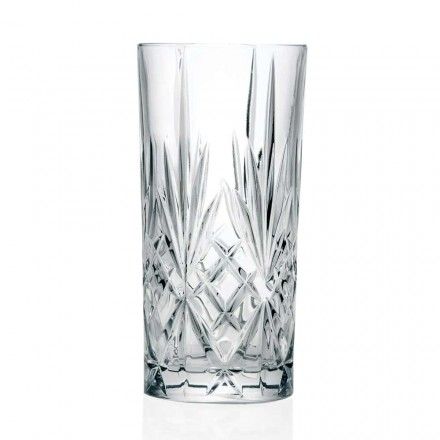 12 Gläser, High Tumbler, Highball für Cocktail in Eco Crystal - Cantabile