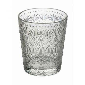12 Bechergläser für Wasser in verziertem transparentem Glas - marokkanisch