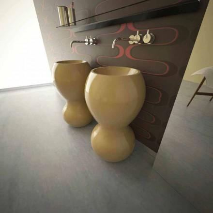 Standwaschbecken in modernem Design Ariel Made in Italy