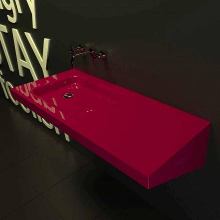 Waschbecken in modernem Design Saddled Made in Italy