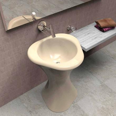 Standwaschbecken in modernem Design Twister Made in Italy