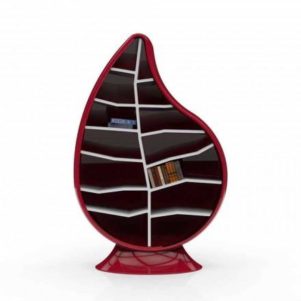 Bücherregal aus Solid Surface®  Clorofilla in modernem Design Made in Italy