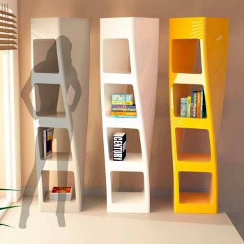 Bibliothek Design Moderne Collins Made in Italy Made in Italy