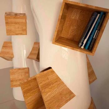 Bibliothek Design Moderne K2 Made in Italy