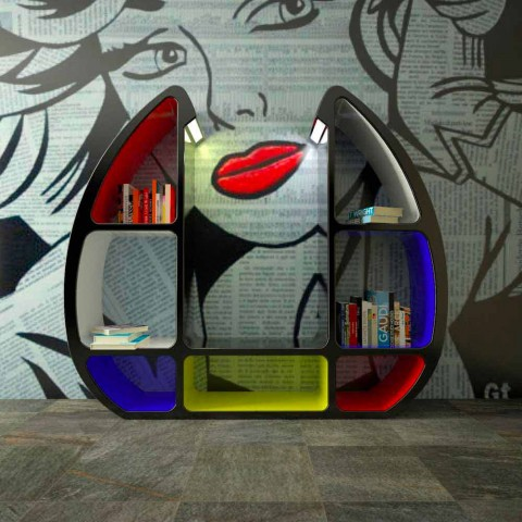 Modern Library Shelley Made in Italy