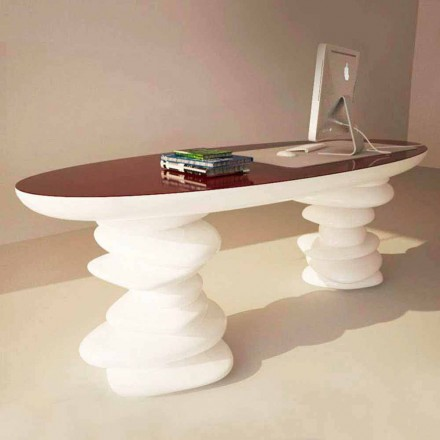 Schreibtisch in modernem Design Aldington von Hand hergestellt