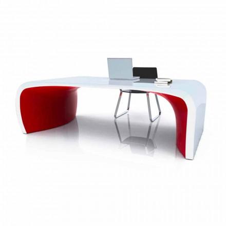 Schreibtisch in modernem Design Sonar von Hand gemacht