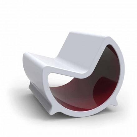 Schaukelsofa 2 Sitzer in modernem Design Moon Made in Italy