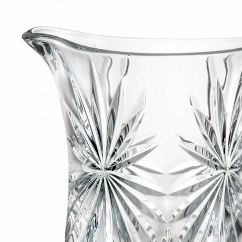 2 Design-Wasserkrüge mit ultraklarer, überlegener Schallglasdekoration - Daniele