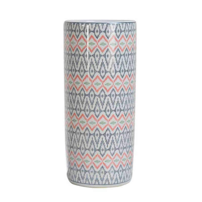 2 Schirmständer aus Porzellan mit Homemotion-Aufkleber - Nando