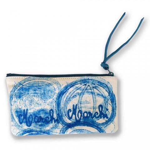 3 handgefertigte hochwertige Baumwollkupplungen - Viadurini von Marchi