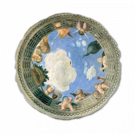 Fresko Andrea Mantegna das Auge