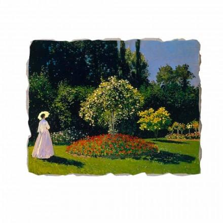 Fresko Claude Monet Frau im Garten von Sainte Adresse
