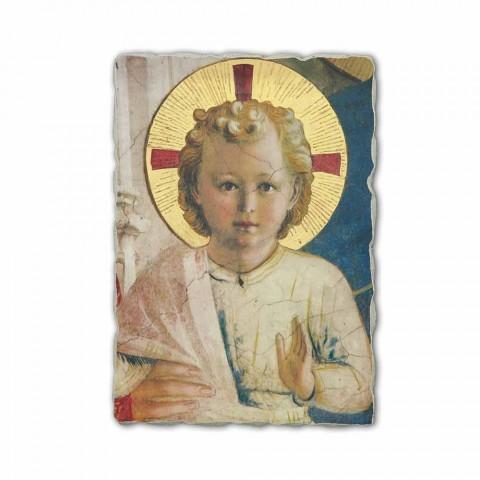 """Fresko in Italien handgefertigt Beato Angelico """"Madonna Shadows"""""""