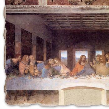 """Fresko getan in Italien Leonardo da Vincis """"Das letzte Abendmahl"""""""