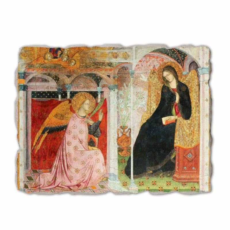 """Fresko Friar Ilario von Viterbo """"Verkündigung"""" besonders"""