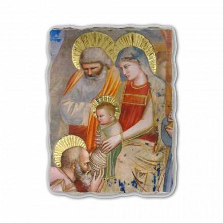 Fresko Giotto Anbetung der heiligen drei Könige