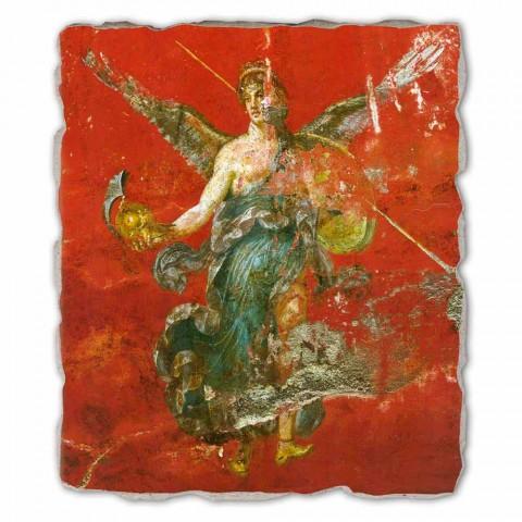 "großes Fresko Roman ""Zyklus der Musen"" made in Italy"