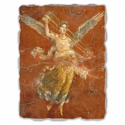 Großes Fresko Pompeji der Musenzyklus